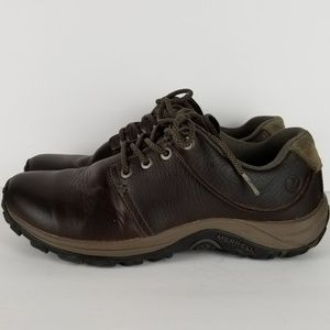 MERRELL ESPRESSO CASUAL MENS 9.5 BROWN Oxford SHOE